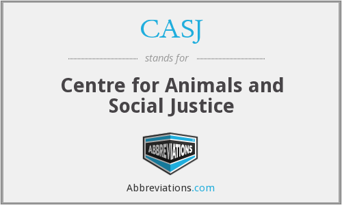 What does CASJ stand for?