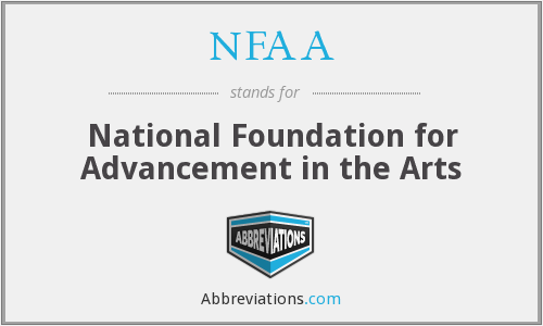 NFAA - National Foundation for Advancement in the Arts