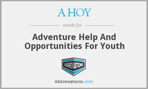 What does AHOY stand for?