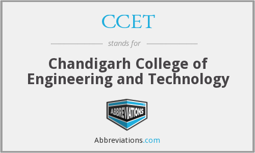 What does CCET stand for?