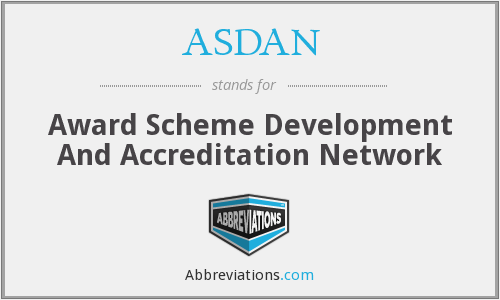 What does ASDAN stand for?