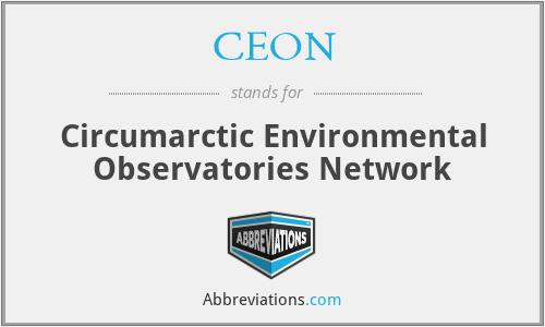CEON - Circumarctic Environmental Observatories Network