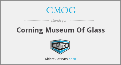 What does CMOG stand for?