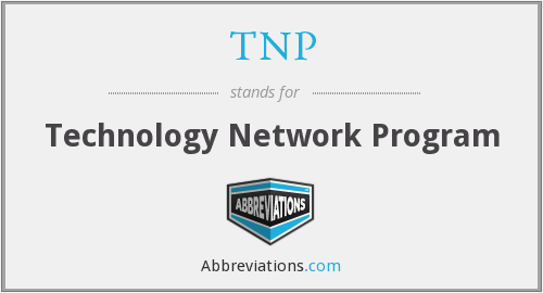 TNP - Technology Network Program