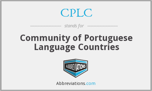 CPLC - Community of Portuguese Language Countries