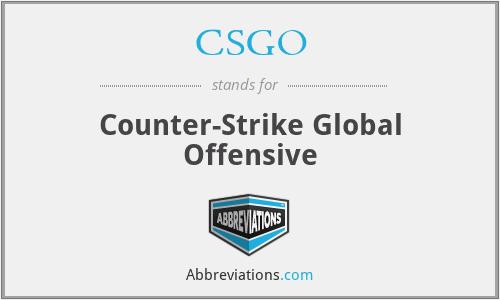 CSGO - Counter-Strike Global Offensive