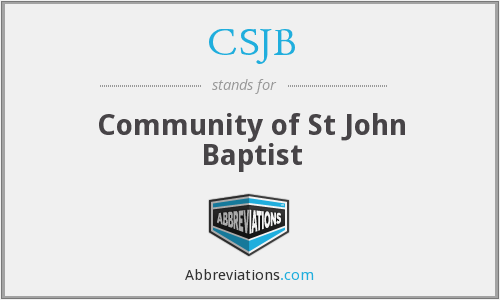 What does CSJB stand for?