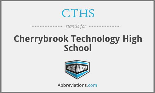 CTHS - Cherrybrook Technology High School