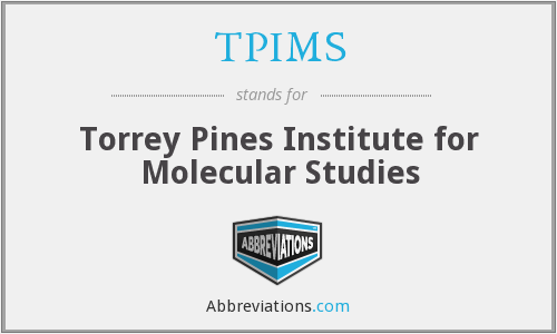 What does TPIMS stand for?