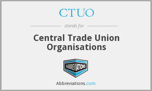 What does CTUO stand for?