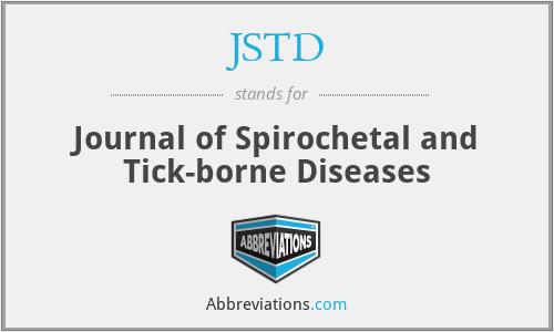 JSTD - Journal of Spirochetal and Tick-borne Diseases