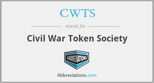 CWTS - Civil War Token Society
