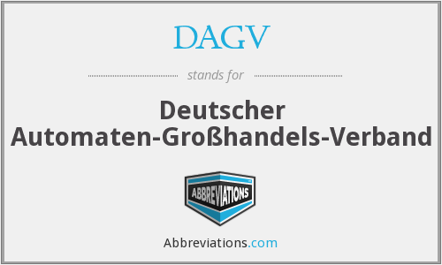 What does DAGV stand for?