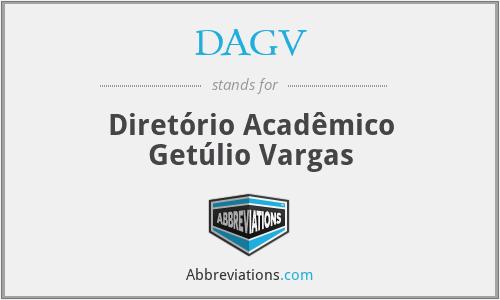 DAGV - Diretório Acadêmico Getúlio Vargas