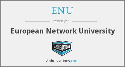 ENU - European Network University