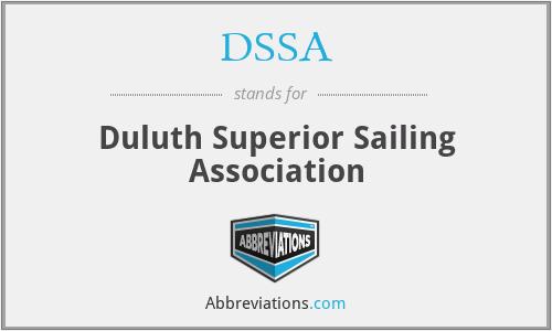 DSSA - Duluth Superior Sailing Association