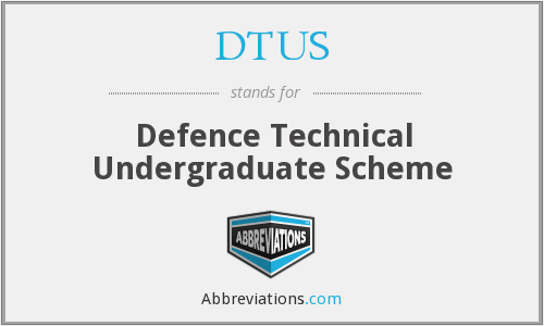 What does DTUS stand for?
