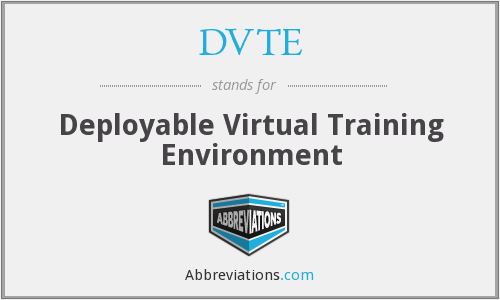 What does DVTE stand for?
