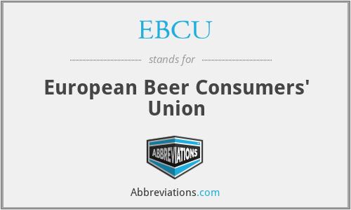EBCU - European Beer Consumers' Union