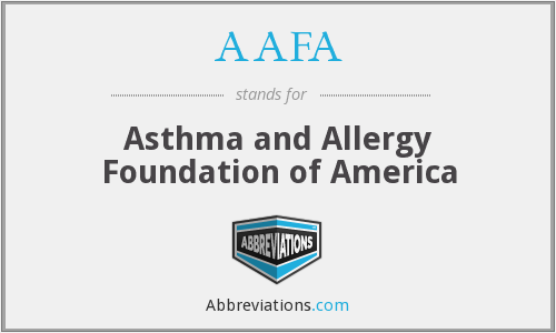 AAFA - Asthma and Allergy Foundation of America