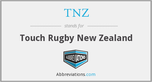 TNZ - Touch Rugby New Zealand