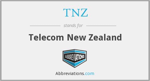 TNZ - Telecom New Zealand
