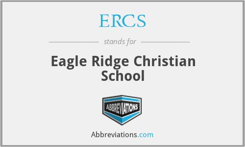 ERCS - Eagle Ridge Christian School