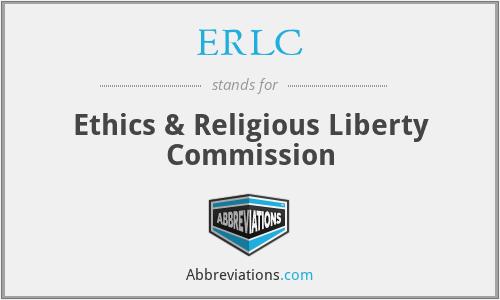 ERLC - Ethics & Religious Liberty Commission