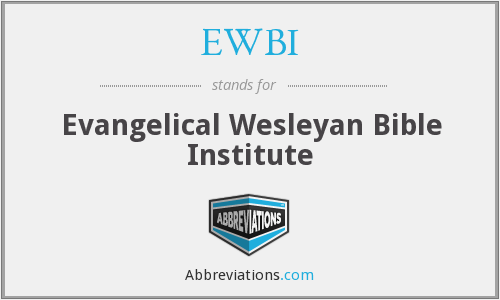 What does EWBI stand for?