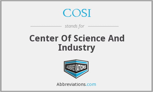 What does COSI stand for?