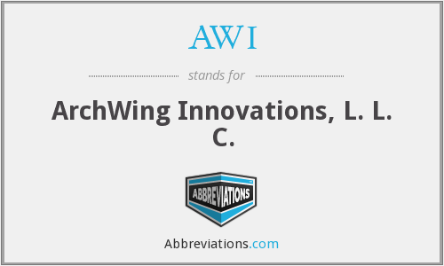 AWI - ArchWing Innovations, L. L. C.