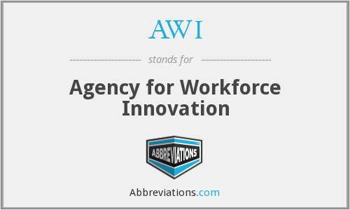 AWI - Agency for Workforce Innovation