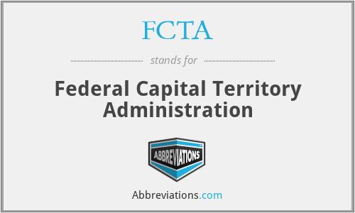 FCTA - Federal Capital Territory Administration