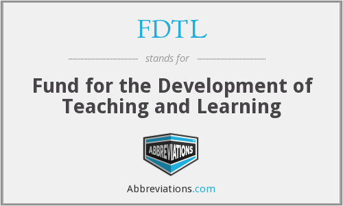 What does FDTL stand for?