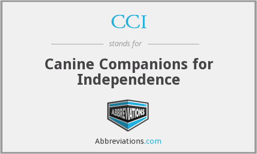 CCI - Canine Companions for Independence