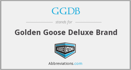 What does GGDB stand for?