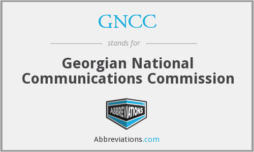 GNCC - Georgian National Communications Commission