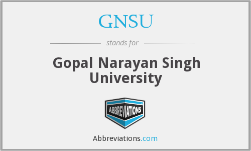 What does GNSU stand for?