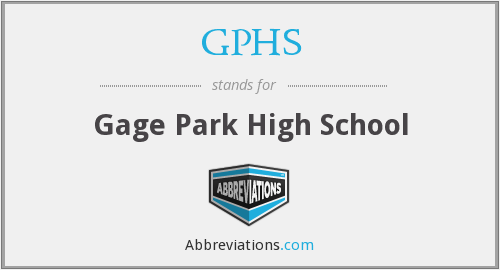 What does GPHS stand for?