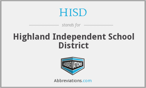 HISD - Highland Independent School District