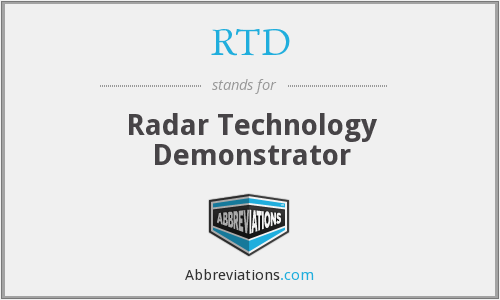 What does RTD stand for?