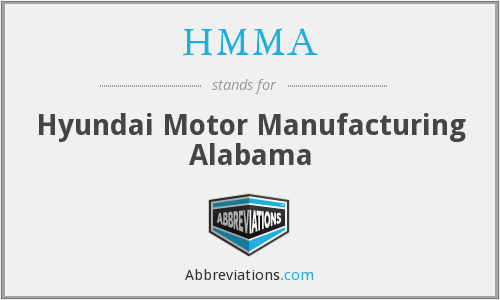 What does HMMA stand for?