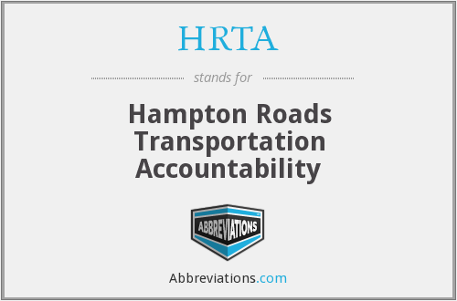 What does HRTA stand for?