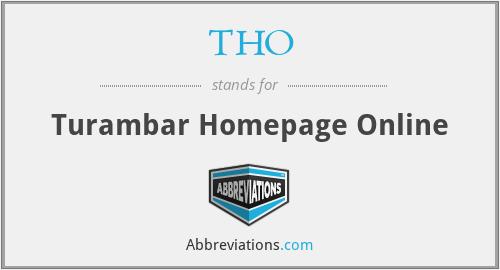 THO - Turambar Homepage Online