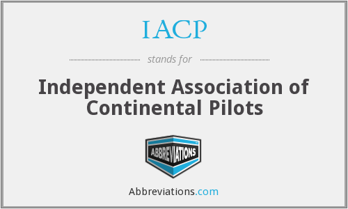 IACP - Independent Association of Continental Pilots