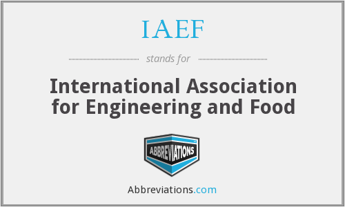 What does IAEF stand for?