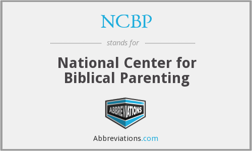 What does NCBP stand for?