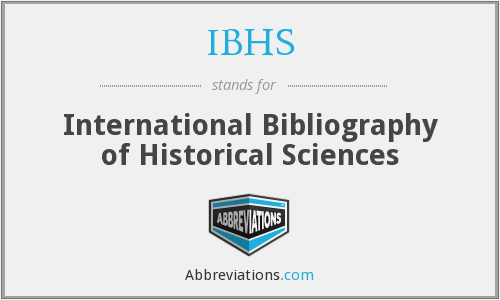 What does IBHS stand for?