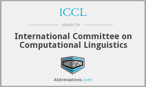 ICCL - International Committee on Computational Linguistics