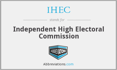 What does IHEC stand for?